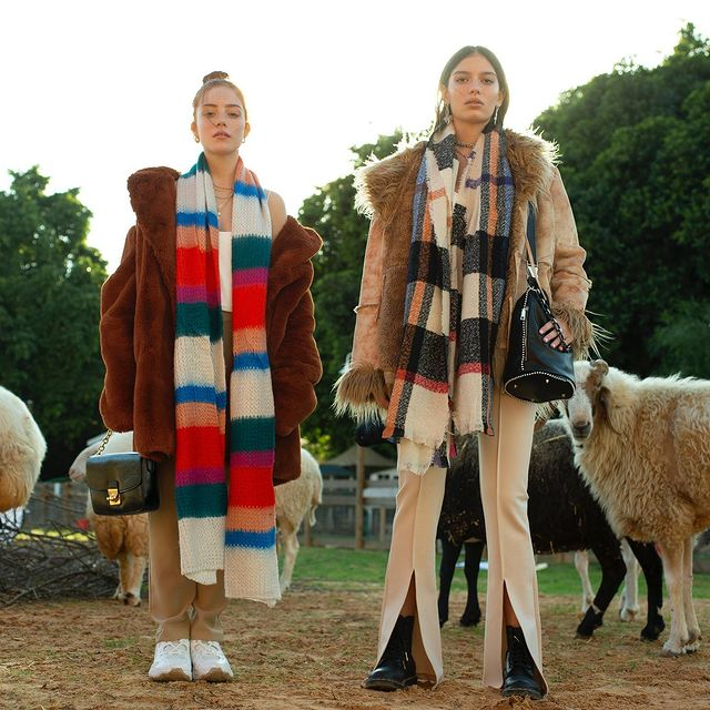 Photo shared by TopTen Accessories on March 07, 2021 tagging @topten_fashion, and @iconzbymedio. May be an image of 2 people, people standing, fur coat and outdoors.